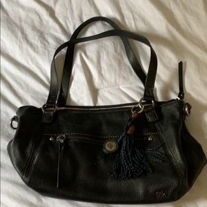 The Sak black shoulder bag purse